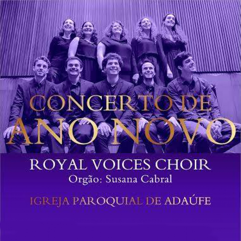 Concerto de Ano Novo - Royal Voices Choir com Susana Cabral